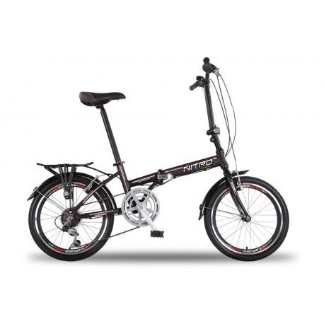 bicicleta plegable ruedas de 20¨Aluminio Shimano 6 velocidades