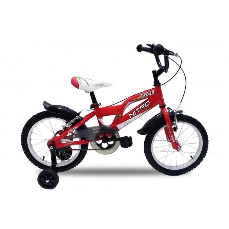 Bicicleta infantil Fire ruedas de 16¨