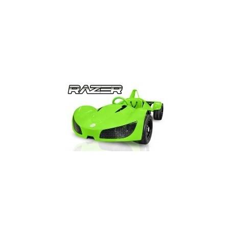 COCHE ELÉCTRICO RACING GT RAZER1000W 48V R6