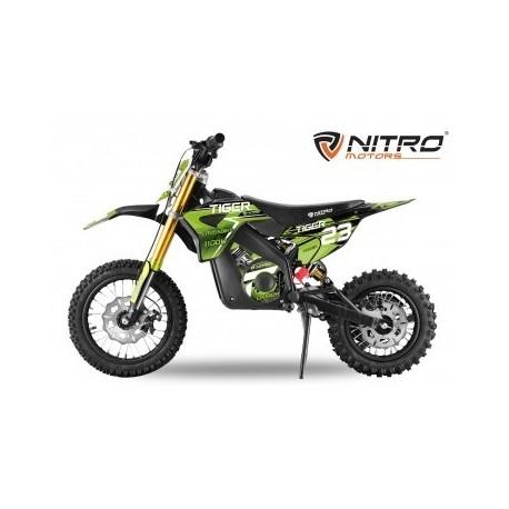 Eco TIGER DELUXE 1100W 36v 13Ah  LITIO 12/10