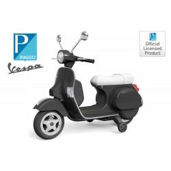MOTO VESPA PIAGGIO C/ RUEDINES  20W 12V  LICENCIA