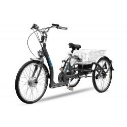 "Bicicletas Eléctricas Velora tricycle 250w 24"" 8 Speed shimano aluminio"