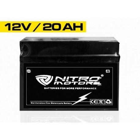 Batería de gel Nitro Recargables 12V 20Ah 6-DZM-20