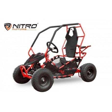 Eco Gokart Crosser RACER 1000W 36V 6 pulgadas 2-etapas