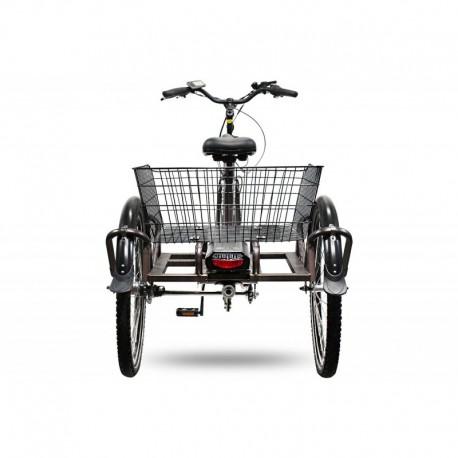 Bicicleta eléctrica 250W de tres ruedas Swing Comfort Pedelec E-Bike 24 pulgadas 3 velocidades Shimano Nexus