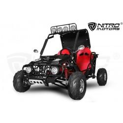 buggy 125cc  Semi automático R7 con marcha atrás  6focos biplaza