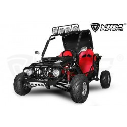 buggy 125cc  automático R7 con marcha atrás  6focos biplaza