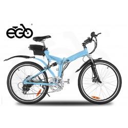 "Bicicletas Eléctricas Chicago 250w 26"" 6 Speed shimano Plegable"