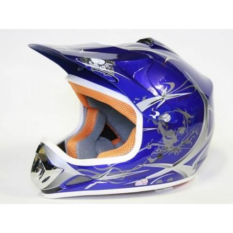 Casco Cross Xtreme Azul