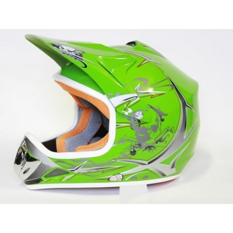Casco Cross Xtreme  Verde